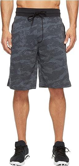 Under Armour - Camo Fleece Shorts