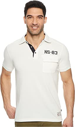 Nautica - Short Sleeve Sail Applique Polo