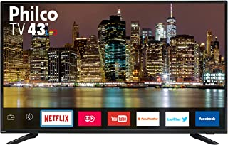 TV TV43E60SN LED, Philco, 099433012, Preto, 43""