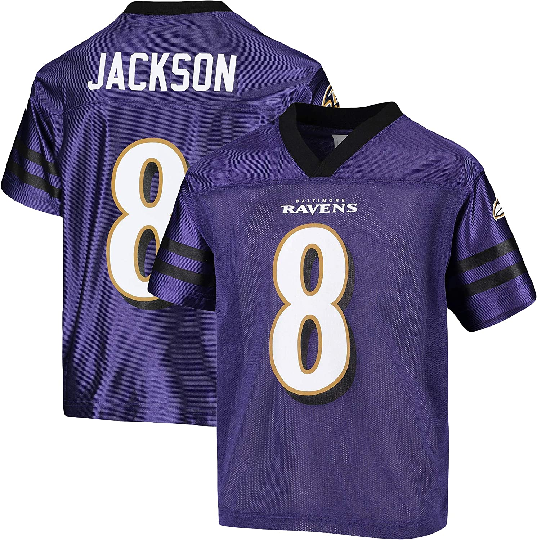 Lamar Jackson Baltimore Ravens #8 Youth 8-20 Home Alternate Player Jersey