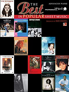 The Best in Popular Sheet Music (The Professional Touch)