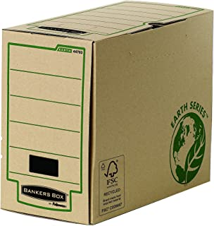 Bankers Box Earth Series 150 mm Wide Transfer File, A4 Size - Pack of 20