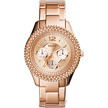 Fossil Women's Stella Quartz Stainless Steel Chronograph Watch