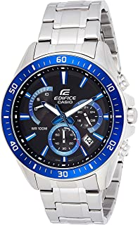 Casio Edifice Men's Multi Dial Stainless Steel Chronograph Watch - EFR-552D-1A2VUDF