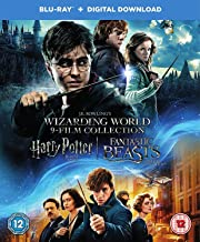 The Wizarding World 9 Film Collection 2017 Region Free