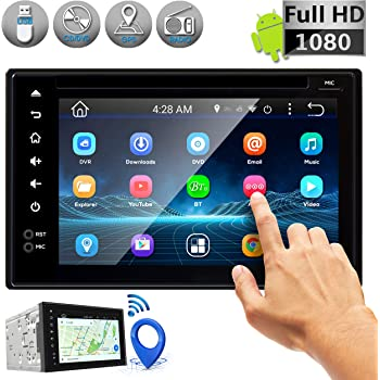 Premium Pyle 6.5-Inch Double Din Car Stereo with Bluetooth Receiver Headunit Sound Around Car Video MP4//MP3 PLDNV64BCM Waterproof Multimedia Disc Player Touchscreen USB//SD Aux-In Reverse Backup Camera