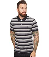 Original Penguin - Short Sleeve Nep Stripe Polo