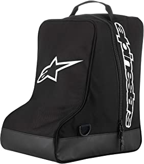 Alpinestars Unisex-Adult Boot Bag Black/White (Multi, one_Size)