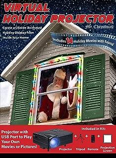 Solayman Tech Christmas Indoor Virtual Holiday Projector