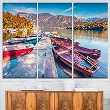 Bohinj Lake in Morning Landscape Photo on Canvas Art Wall Photgraphy Artwork Print