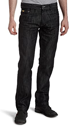 Southpole Men's Big & Tall Relaxed Fit Basic Shiny Streaky Denim, Rinse