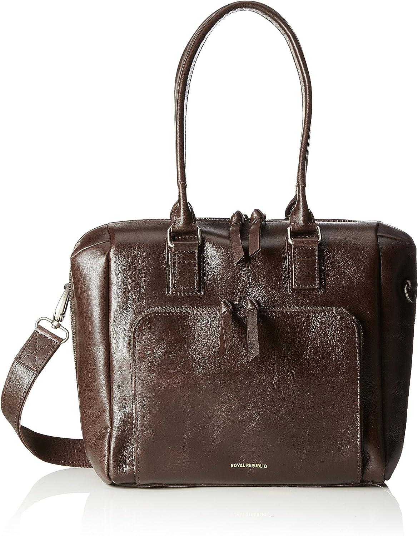 Royal Republiq Countess, Women's CrossBody Bag, brown (Brown), 13x25x34 cm (B x H T)