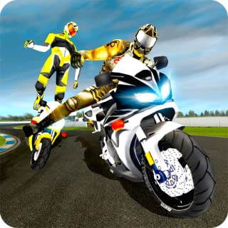 Highway Racing Stunt Rider: Get Ready for a Bit of Real Action of Road Rash and Thrill on Detailed Tracks - Perform Crazy Bike Stunts in Highway Bike Attack Race