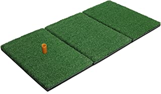 rukket tri turf golf hitting grass mat