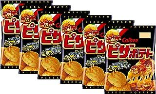 Calbee Pizza Potato Chips 6 Packs Set