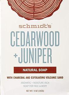 Schmidt's Deodorant Soap Bar - Cedarwood & Juniper, 5 Ounce
