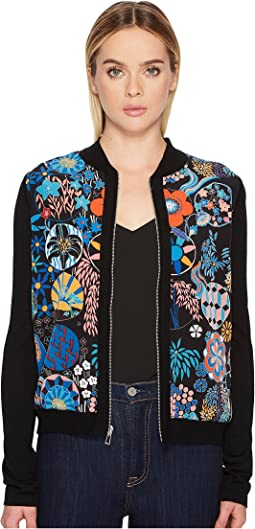 Paul Smith - Floral Print Cardigan
