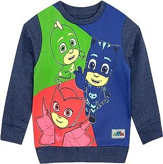 PJ Masks Boys' Catboy Owlette Gekko Sweatshirt