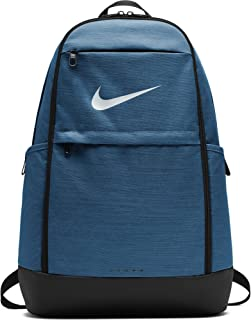 NIKE Brasilia Backpack, Green Abyss/Black/White, X-Large