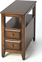 Butler Specialty Company Marcus Side Table with 2 Drawers in a Medium Cherry Finish