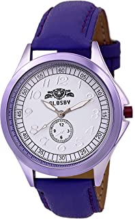 GLOSBY Analog Round Dial Watch for Mens and Boys