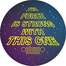 Tire Cover Central Force is Strong Tribute to Star Wars Spare Tire Cover for 255/75R17 Jeep RV Camper Trailer (Drop Down menu Sizes