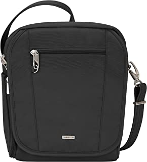 Travelon Anti-Theft Tour Bag, Medium, Black, One Size
