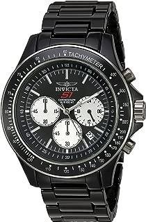 Invicta Men's S1 Rally Quartz Watch with Ceramic Strap, Black, 12 (Model: 23835)