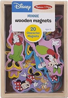 Melissa & Doug Disney Minnie Mouse Wooden Character Magnets (20 pcs)
