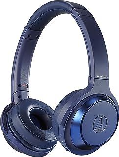 audio-technica SOLID BASS ワイヤレスヘッドホン 重低音 最大70時間再生 ブルー ATH-WS330BT BL