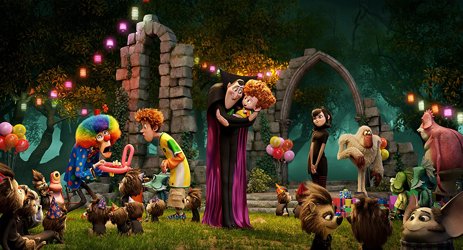 Cartoon Spring new work one after Financial sales sale another Hotel Transylvania Movie Poster Wall Print