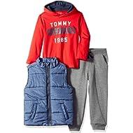 Tommy Hilfiger Boys' Toddler 3 Pieces Vest Set