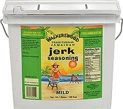 Walkerswood Traditional Jerk Seasoning, 9.25 lb. (4.2 kg.), Mild Jamaican Jerk Seasoning, for Chicken, Pork, Fish, Hamburgers & Vegetables, Bulk Mild Jerk Seasoning in Jumbo Can