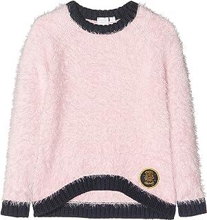 Top Oberteil Langarm Shirt Pullover Mädchen Violetta grau pink rosa 116-152 #33