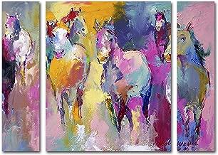 Trademark Fine Art ALI0361-3PC-SET-LG Wild by Richard Wallich, Large Three Panel Set