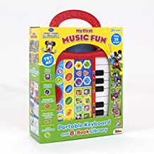 Disney Mickey Mouse Clubhouse - My First Music Fun Portable Electronic Keyboard and 8-Book Library - PI Kids