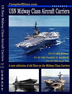 US Navy Midway Class Aircraft Carriers-USS Midway, USS Franklin D. Roosevelt, USS Coral Sea old historic films
