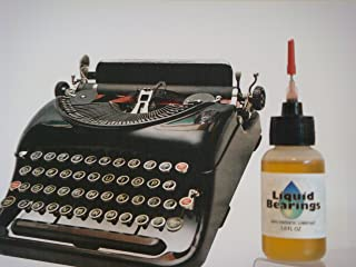 ULTIMATE 100%-synthetic oil for any typewriter, restores sticky keys, makes typewriters smoother and quieter!!