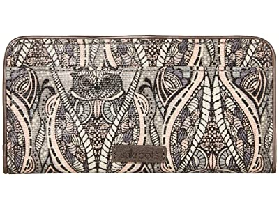 Sakroots Artist Circle Slim Wallet (Dove Soulful Desert) Wallet Handbags