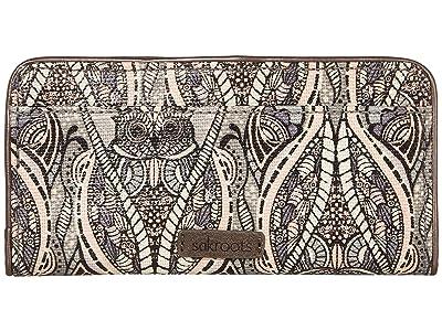 Sakroots Artist Circle Slim Wallet (Dove Soulful Desert) Wallet Handbags