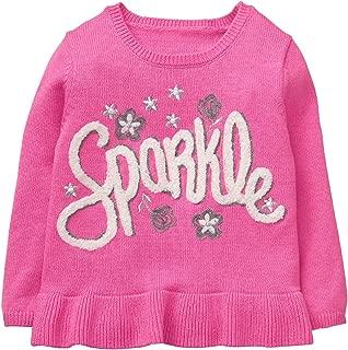 Girls' Toddler Owl Face Sweater