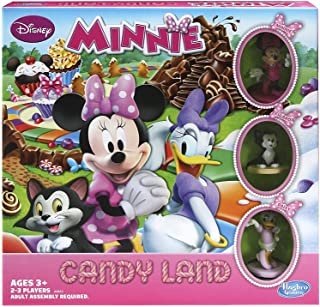 Hasbro Candy Land Game Disney Minnie Mouse's Sweet Treats Edition