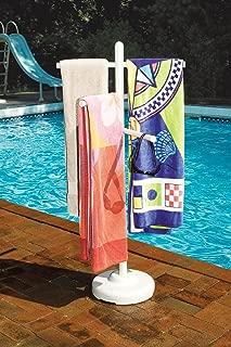 outdoor pool rack