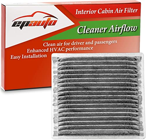 lowest EPAuto CP547 (CF10547) Cabin lowest Air Filter includes Activated Carbon Replacement for Ford Edge, Lincoln MKX(2008-2015) / MKZ(2008-2009) / MKS(2009), online Mazda CX-9 (2007-2015) online
