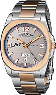 Armand Nicolet Men's 8650A-GS-M8650 J09 Classic Automatic Two-Toned Watch
