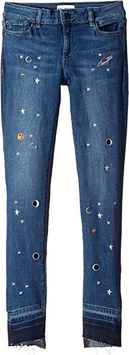 Embroidered Skinny Jeans in Galaxy (Big Kids)