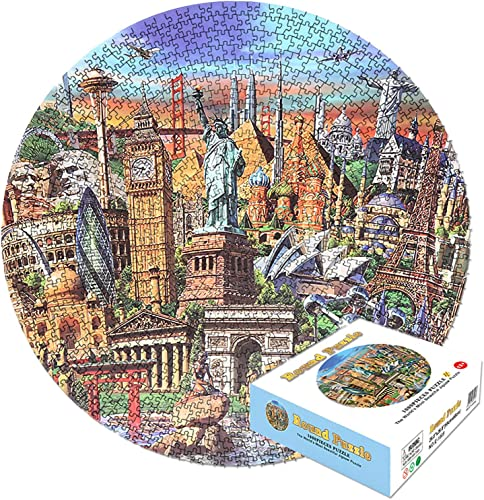 lowest Puzzles for Adults 1000 Pieces, sale Intellective Educational Landscape Puzzle Game Toys Gift, Statue of Liberty, World Landmark Building sale Landscape Jigsaw Puzzle Game for Children Adult Jigsaw Artwork online sale