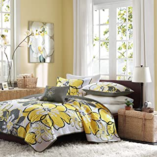 Best yellow and gray coverlet Reviews