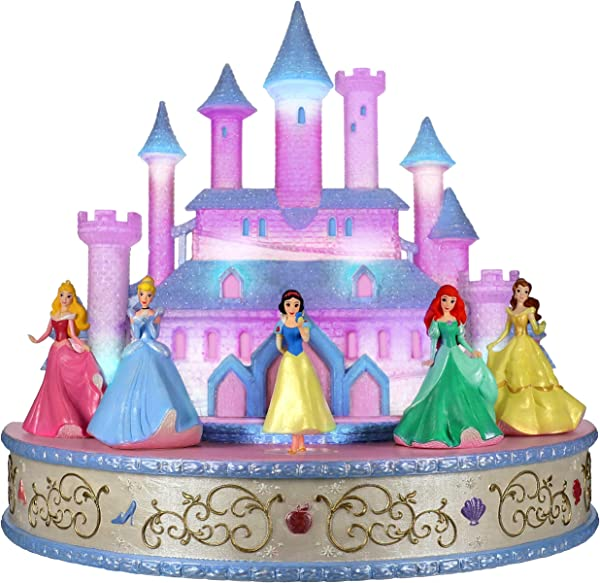 Hallmark Keepsake Christmas Ornament 2019 Year Dated Disney Live Your Story Interactive Castle Musical Tabletop Decoration With Light Plays Princess S Signature Songs