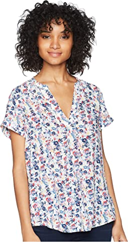 Joules - Iona Short Sleeve Blouse
